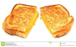 Grilled Cheese clipart toasted sandwich