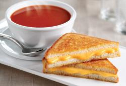 Grilled Cheese clipart tomato soup