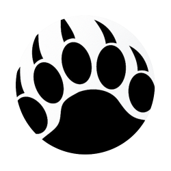 Scratches clipart grizzly paw
