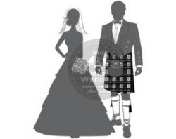Groom clipart scottish