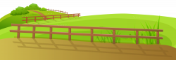 Feilds clipart farm fence