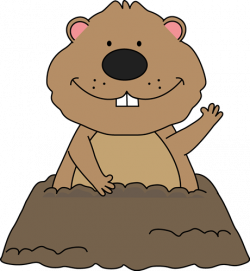 Ground clipart groundhog hole