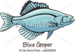 Grouper clipart different