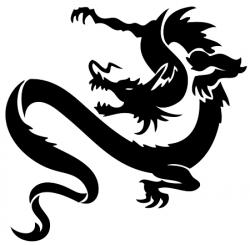 Grouper clipart dragon
