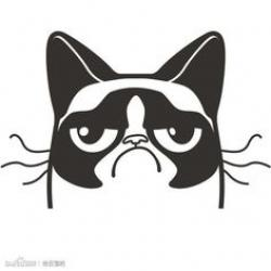 Grumpy Cat clipart