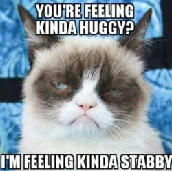 Grumpy Cat clipart bad mood