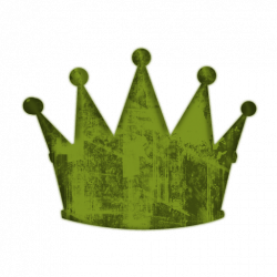 Grundge clipart crown