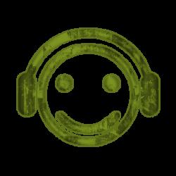 Grunge clipart phone headset