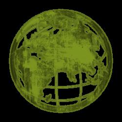 Grundge clipart globe