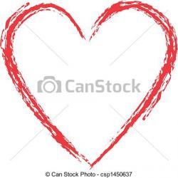 Grundge clipart heart