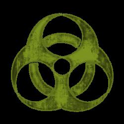 Toxic clipart icon