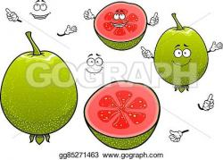 Guava clipart tropical