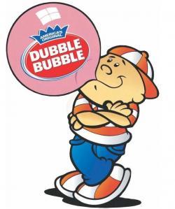 Chewing Gum clipart dubble bubble
