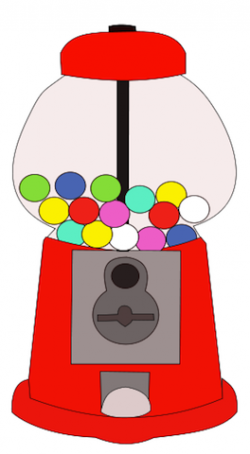 Chewing Gum clipart machine