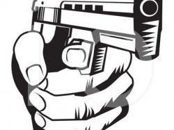 Violence clipart gun violence