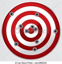 Target clipart shooting range