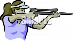 Shooter clipart shooting gun