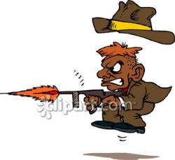 Gun Shot clipart cartoon