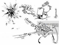 Gun Shot clipart clay pigeon shooting