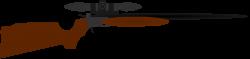 Machine Gun clipart hunting gun