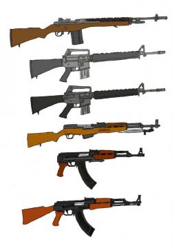 Gun Shot clipart military weapon
