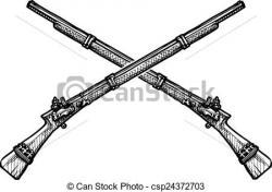 Gun Shot clipart musket