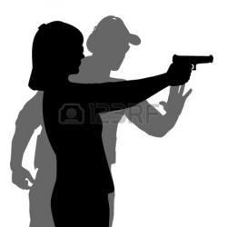 Gun Shot clipart pistol