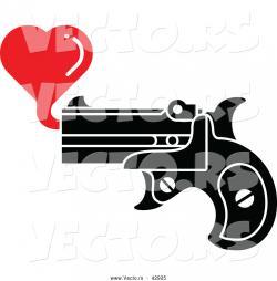 Pistol clipart shooting gun