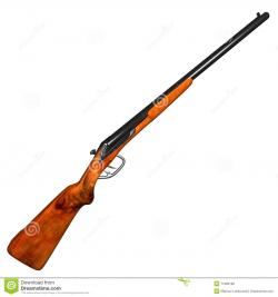 Shotgun clipart double trigger