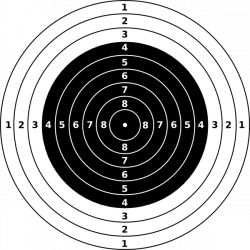 Sniper clipart shooting target