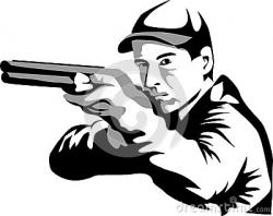 Shooter clipart skeet shooting