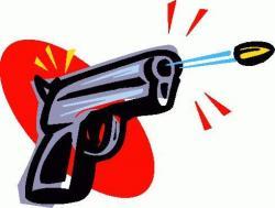 Gun Shot clipart shooting gun