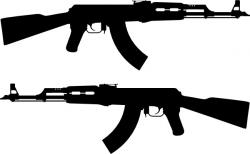 Gun Shot clipart sniper rifle