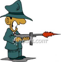 Gun Shot clipart tommy gun