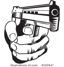 Violence clipart shooting gun