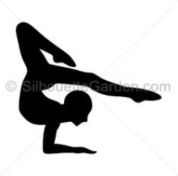 Gymnast clipart acrobatic gymnastics