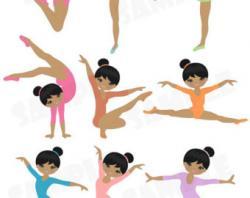 Gymnast clipart artistic gymnastics