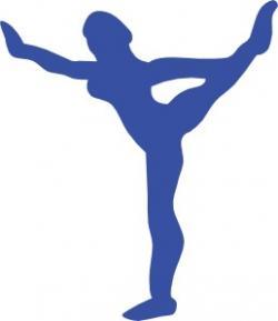 Gymnast clipart balance