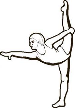 Whit clipart gymnastics