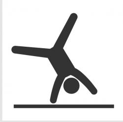 Gymnast clipart gymnastics cartwheel