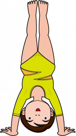 Upside Down clipart handstand