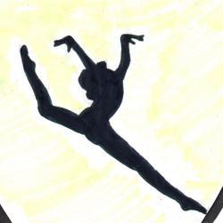 Gymnastics clipart tuck jump