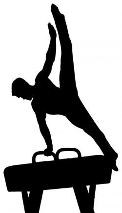 Gymnast clipart male gymnast
