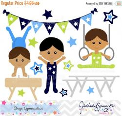 Gymnast clipart preschool gymnastics