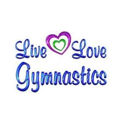 Gymnastics clipart live love