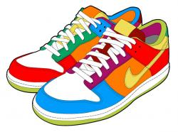 Gym-shoes clipart