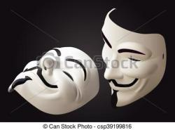 Hacker clipart anonymous mask