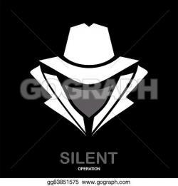 Hiding clipart undercover agent