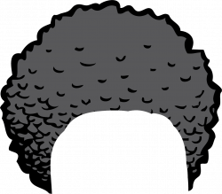 Red Hair clipart afro