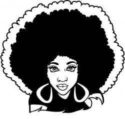 Hair clipart afro hair